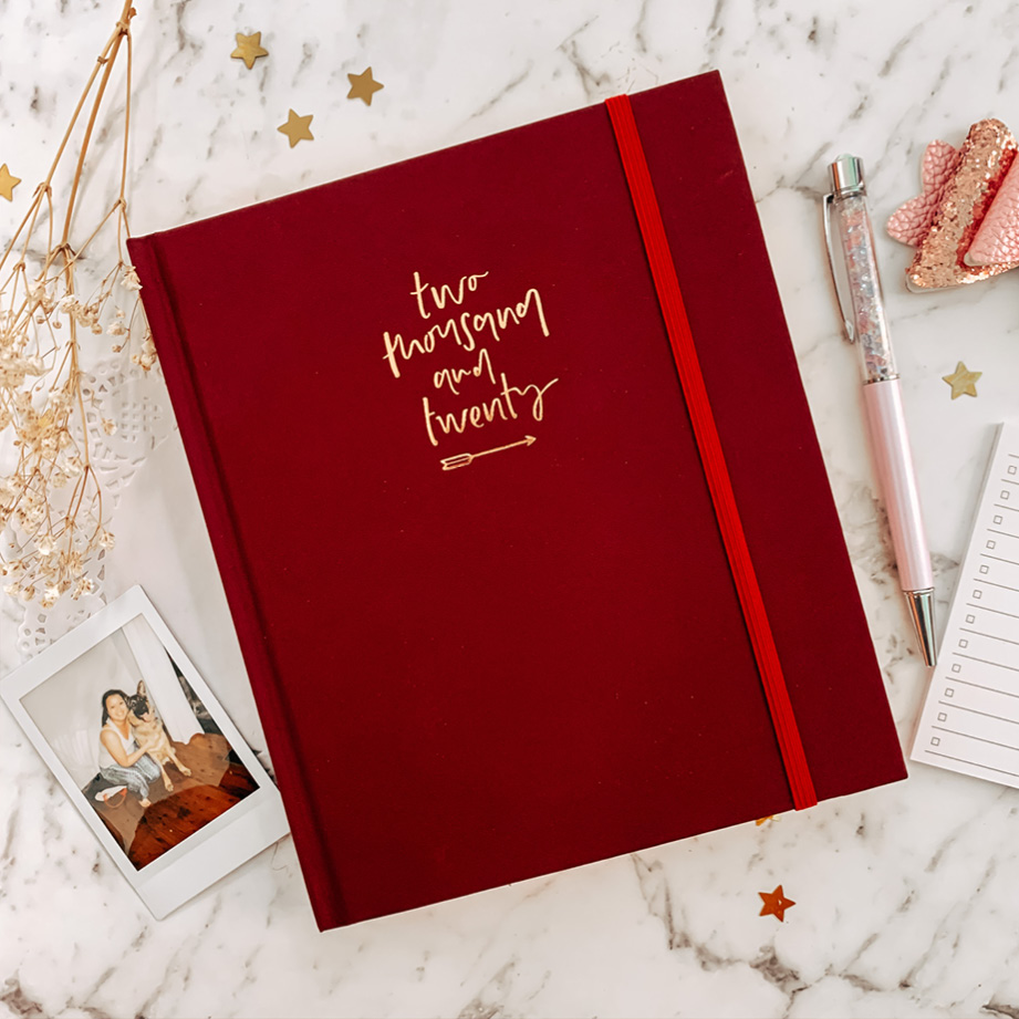 Emma Kate Co Planner Red Wine
